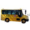 School bus Mobile DVR Monitoring System Diagram